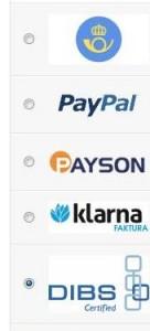 CubeCart V5 Payment Gateway Logos