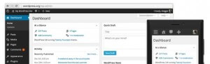 WordPress 3.8 Admin