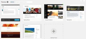 WordPress 3.8 Theme Selector Screen